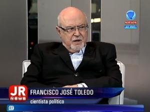 Em entrevista para o R7 com Francisco José Toledo